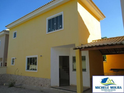 Casa Para Venda Em Araruama, Boa Perna, 2 Dormitórios, 2 Banheiros, 1 Vaga - 57