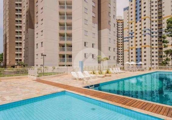 Apartamento Com 2 Dormitórios Para Alugar, 57 M² Por R$ 1.600,00/mês - Jardim Henriqueta - Taboão Da Serra/sp - Ap0672