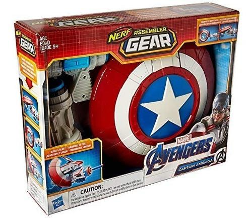 Vengadores De Marvel Capitán América Engranajes Nerf Ensa