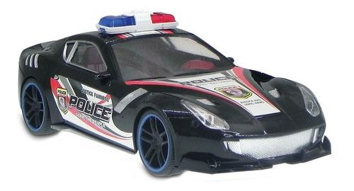 Auto De Policía A Fricción Diseño Motorsport Original Niños