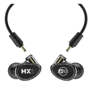 Auriculares P/monitoreo In Ear Mee Audio Mx3 Pro Black/clear