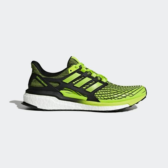 Tênis Original adidas Energy Boost Verde E Preto Cp9542