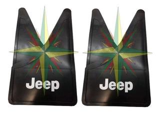 Juego X 4 Barreros Goma Jeep Renegade ( Delanteros + Traseros )