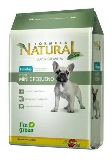 Ração Formula Natural Filhote Raças Pequenas Mini 7kg