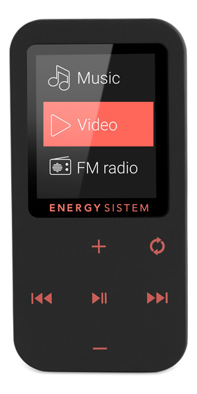Reproductor Mp4 Bluetooth Control Táctil, Coral