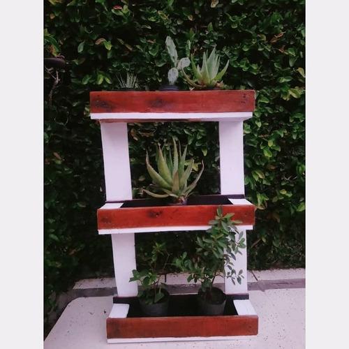 Huerta/jardin Vertica/macetero Doble Color.promocion Navidad