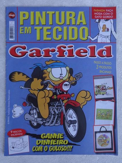 Revista: Pintura Em Tecido Garfield Nº 1 - 3 Produtos