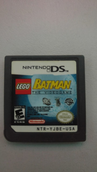Cartão Nintendo Dsi Lego Batman Original