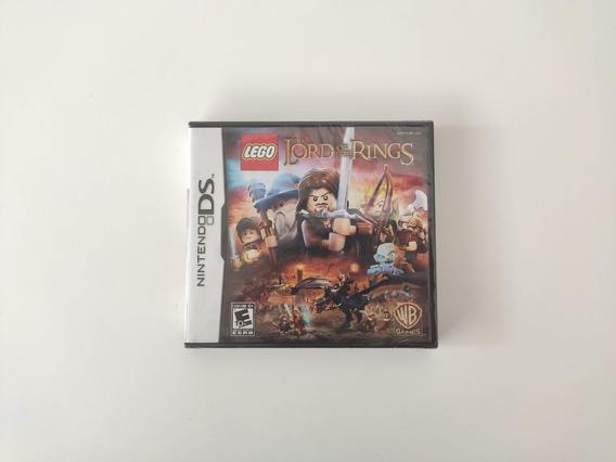 Lego Lord Of The Rings Senhor Aneis Nintendo Ds Novo Lacrado