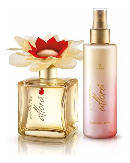 Perfume Jardim Nobre 95 Ml+spray Hidratante 200 Ml Eudora