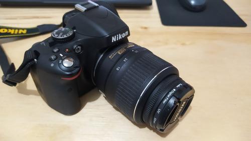 Câmera Nikon D5100 - Lente 18-55mm