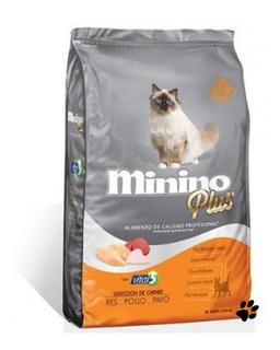 Minino Plus 10kg Alimento Para Gato :)