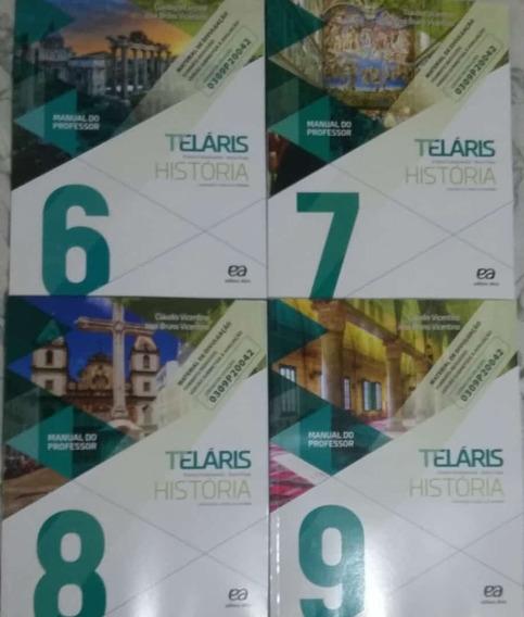 Teláris História 4 Volumes Pnld 2020 Manual Do Professor