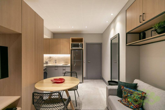Studio Para Alugar, 47 M² Por R$ 2.750,00/mês - Água Verde - Curitiba/pr - St0009