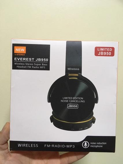 Fone De Ouvido Jb950 S/ Fio Bluetooth + Brinde