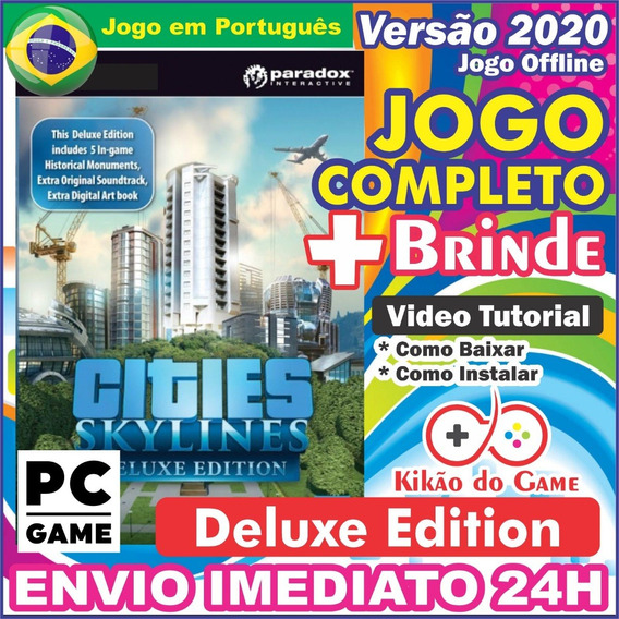 Cities: Skylines Deluxe Edition Pc Digital Br + Brinde