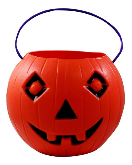 Calabaza Naranja Mediana Para Halloween