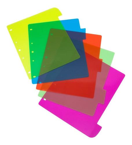 Separador Keepermate Plástico Media Carta 95 X 5 Uds