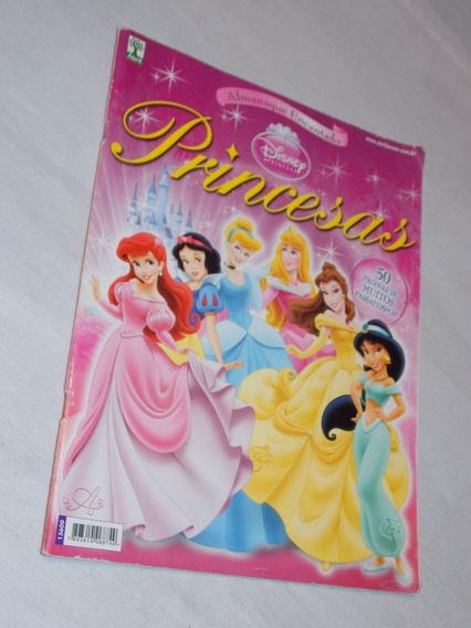 Revista Almanaque Encantando Disney Princesas
