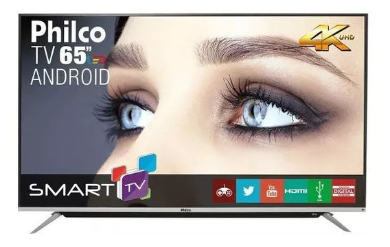 Smart Tv 4k Curve 65 Polegadas Led Ultra Hd Ptv65a16sa Philc