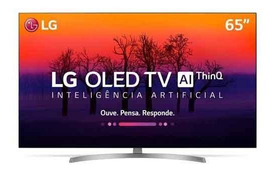Smarttv 4k Lg Oled 65 Ultra Hd Webos 4,0 Dolby Oled65b8ssc