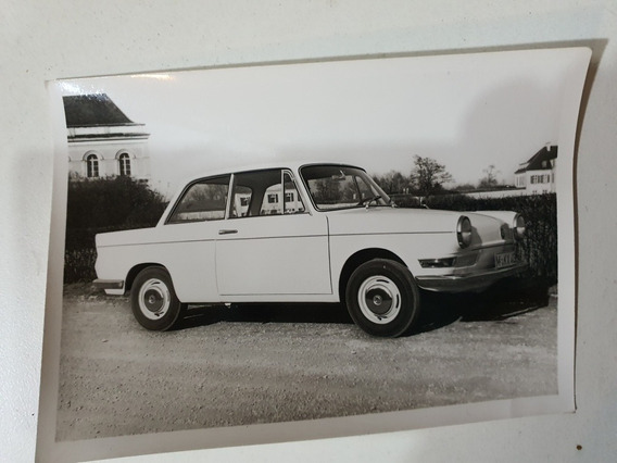 Antigua Foto Postal Original Bmw 700 Luxus 1961