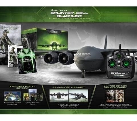 Splinter Cell Blacklist Paladin Edition - Ps3