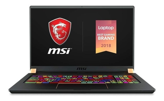 Msi Gs75 Stealth 247 I7 98800 32gb 1tbssd Rtx2080 8gb