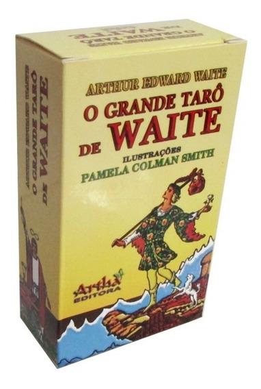 Tarô De Waite - Editora Artha Com 78 Laminas-+ Brinde