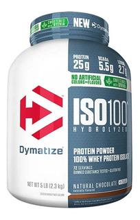 Whey Protein Hidrolisado Iso 100 2.2 Kg Dymatize Chocolate