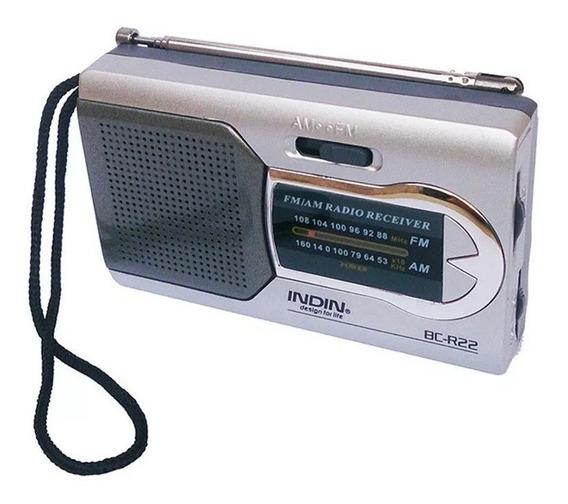 Indin Bc-r22 Am / Fm Dual Band Mini Receptor De Rádio