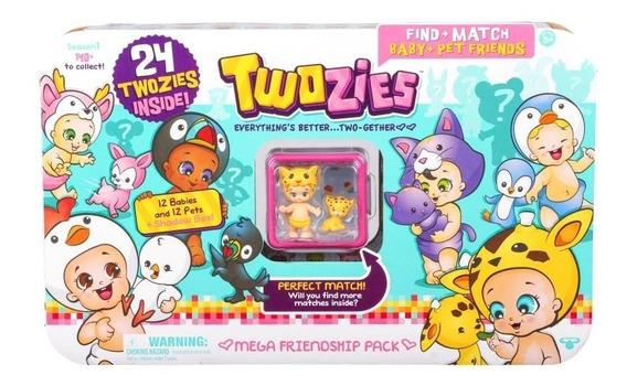Twozies Conj 24 Figuras Plástico