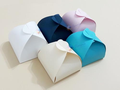 400 Caixinhas Para Bem Casados Em Papel Color Plus Sem Laço