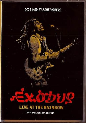 Dvd Bob Marley & The Wailers Exodus Live At The Rainbow - Or