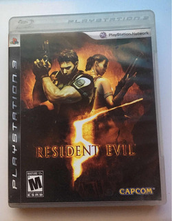 Resident Evil 5 Videojuego Ps3