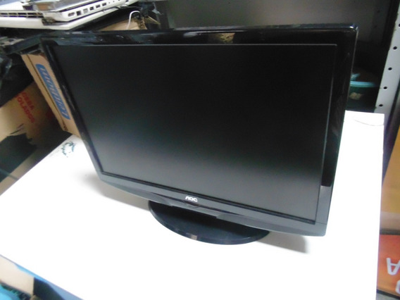 Monitor Pc Aoc 19 L19w831 Lcd Tv E198mansw8ac3n