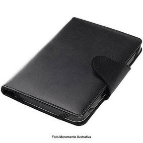 Case Para Tablet Tela 7 Universal Botão Magnético/elástico