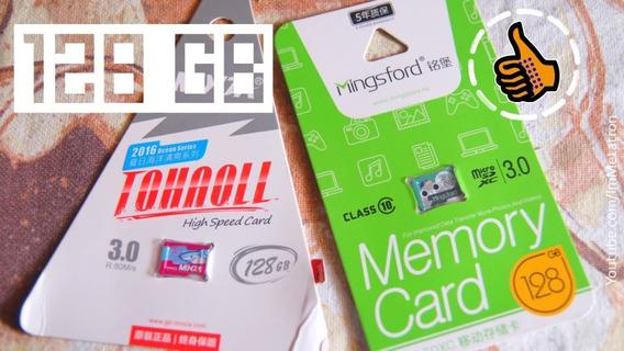 Cartão De Memória Micro Sd 128gb Classe 10 High Speed 100mb/