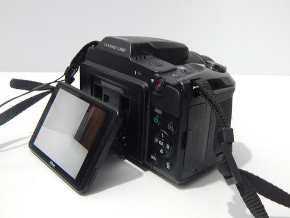 Câmera Full Hd Super Zoom 38x Nikon L840