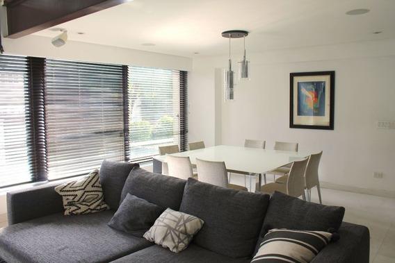 Penthouse Amueblado En Col Polanco, Con Aire Acondicionado Y Acabados De Lujo