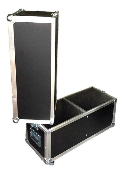 Flight Case Duplo Para Rcf Art712a