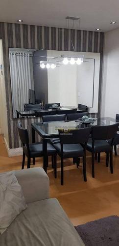 Apartamento Com 2 Dormitórios À Venda, 48 M² Por R$ 340.000,00 - Vila Carrão - São Paulo/sp - Ap2708