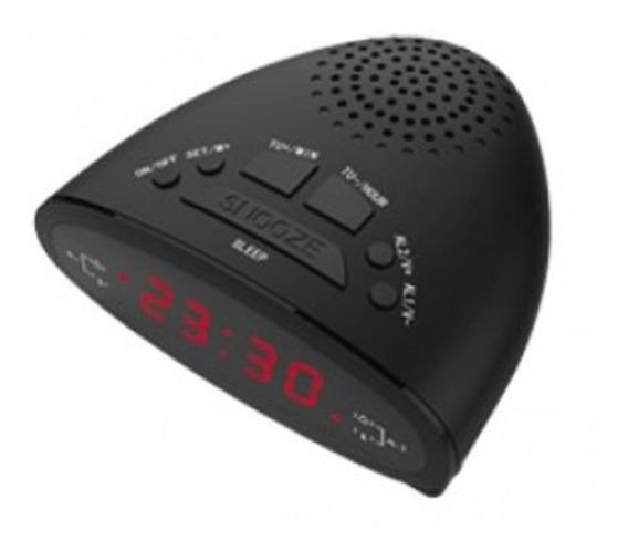 Rádio Reprodutor De Som Relógio Lelong Le-611 Alarme