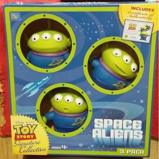 Toy Story 3 Marcianos Aliens Certificado 16 Cms Original
