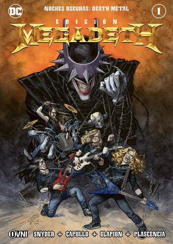Imagen 1 de 1 de Cómic, Dc, Noches Oscuras: Death Metal #1 (edición Megadeth)