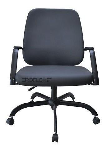 Cadeira/poltrona Escritório Plus Size Reforçada Supor. 150