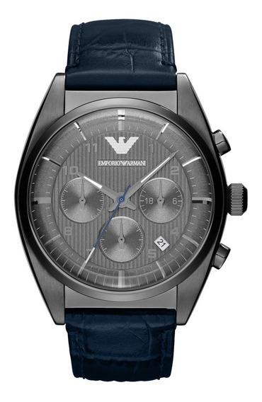 Relógio Emporio Armani Masculino Azul - Har1650/z