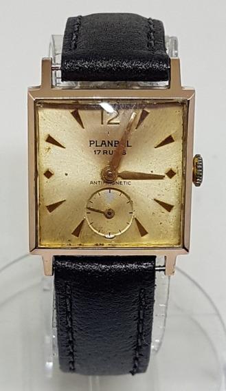 Relogio Vintage De Pulso Planbel Watch 17 Rubis Swiss Made