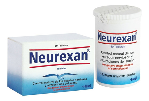 Neurexan® 50 Tabletas - Unidad a $48300