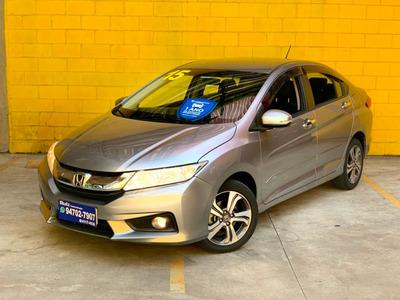 Honda City 1.5 Ex Cvt Unico Dono Baixa Km Raridade
